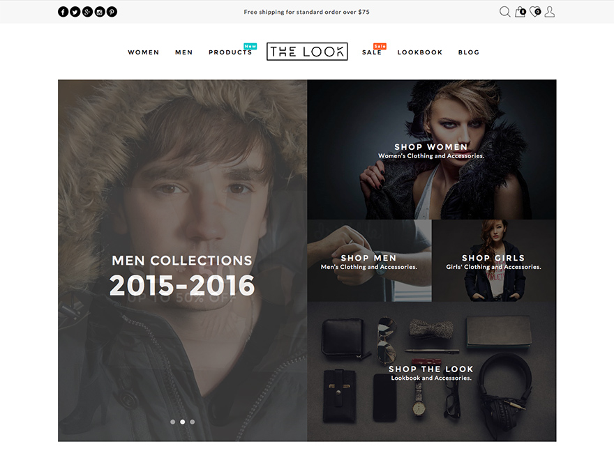 Look - Multi Purpose Magazine Theme