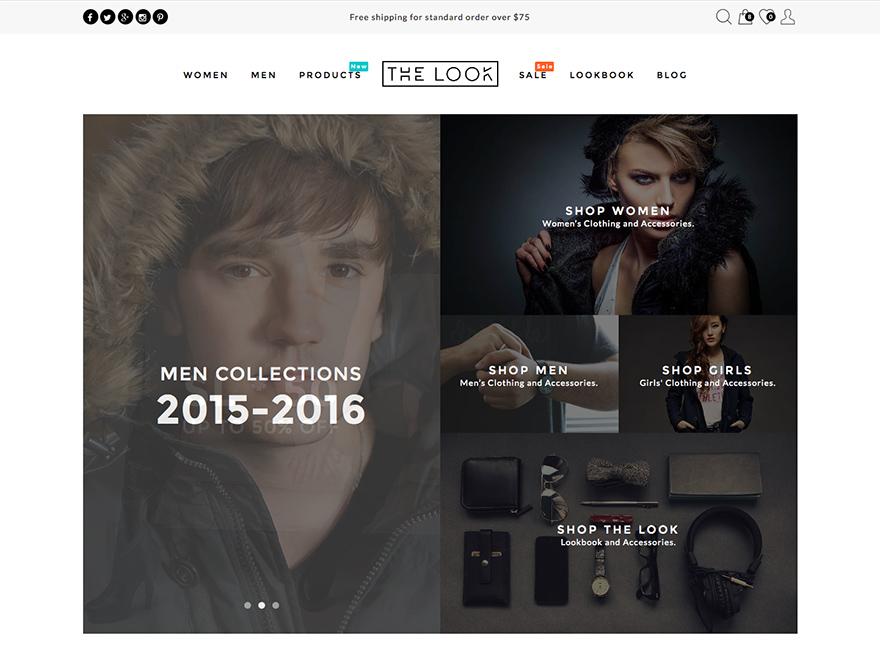 Look - Multi Purpose Magazine Theme